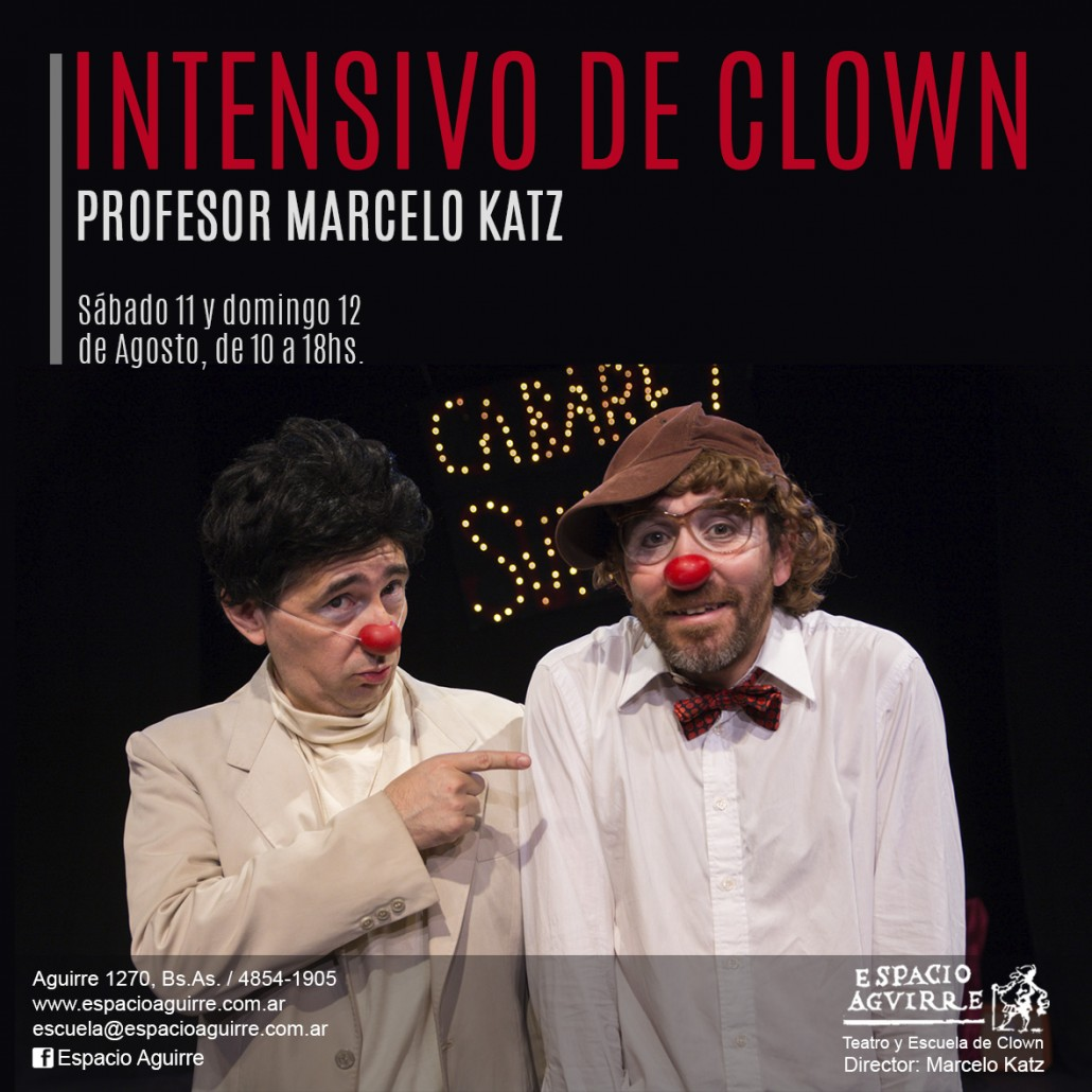 2018 Intensivo de clown MK agosto