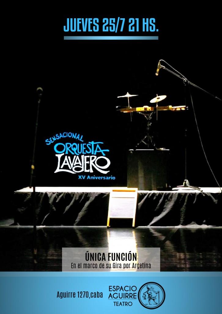 Sensacional Orquesta Lavadero - AFICHE